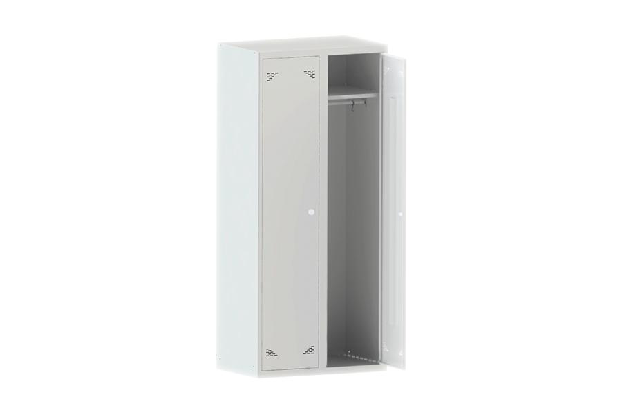 Шкаф одежный (гардеробный) двухстворчатый ШО 2/1000