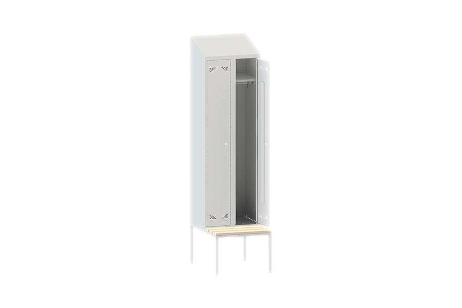 Шкаф одежный (гардеробный) двухстворчатый ШО 2ПСНК