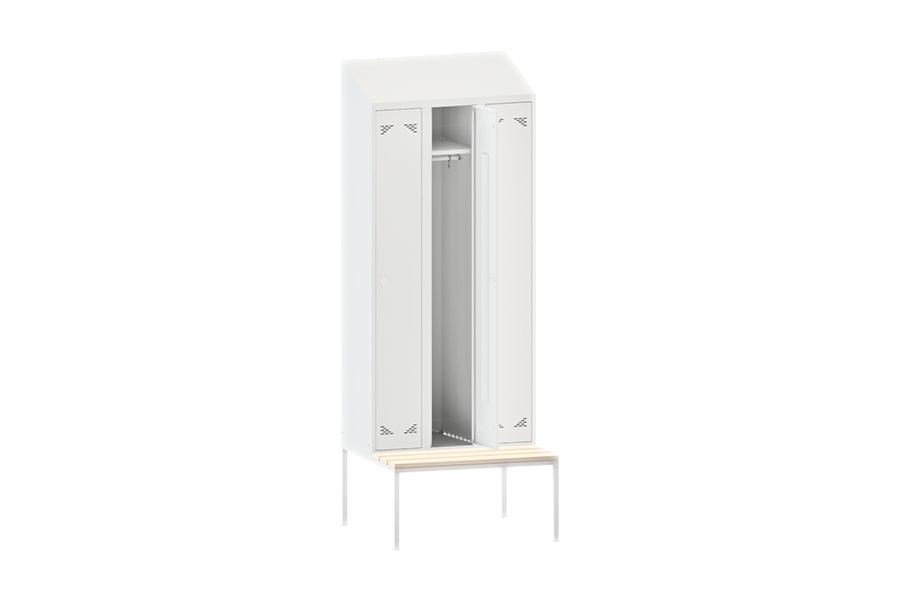 Шкаф одежный (гардеробный) трехстворчатый ШО 3ПСНК