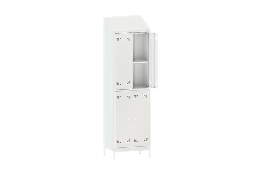 Шкаф одежный (гардеробный) четырехстворчатый ШО 4ННК