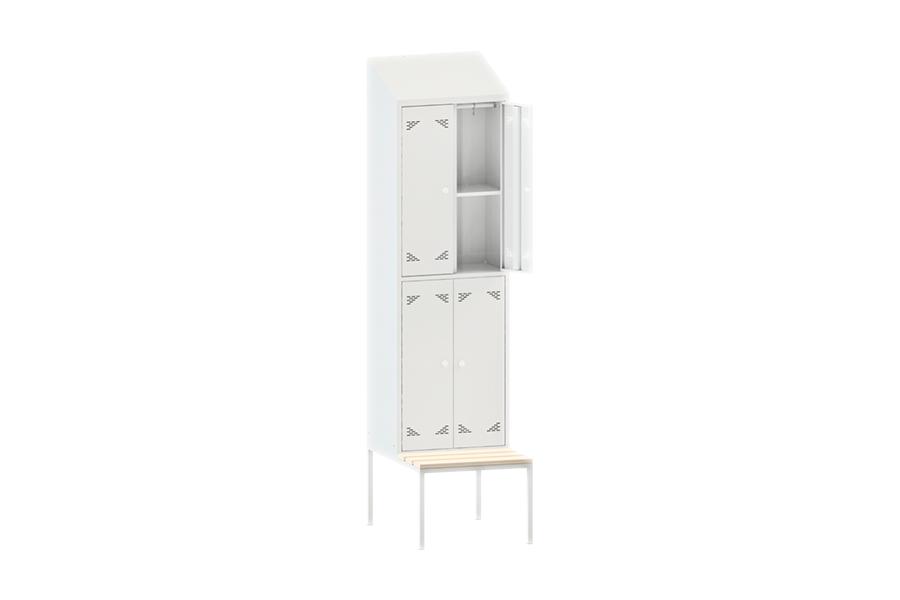 Шкаф одежный (гардеробный) четырехстворчатый ШО 4ПСНК