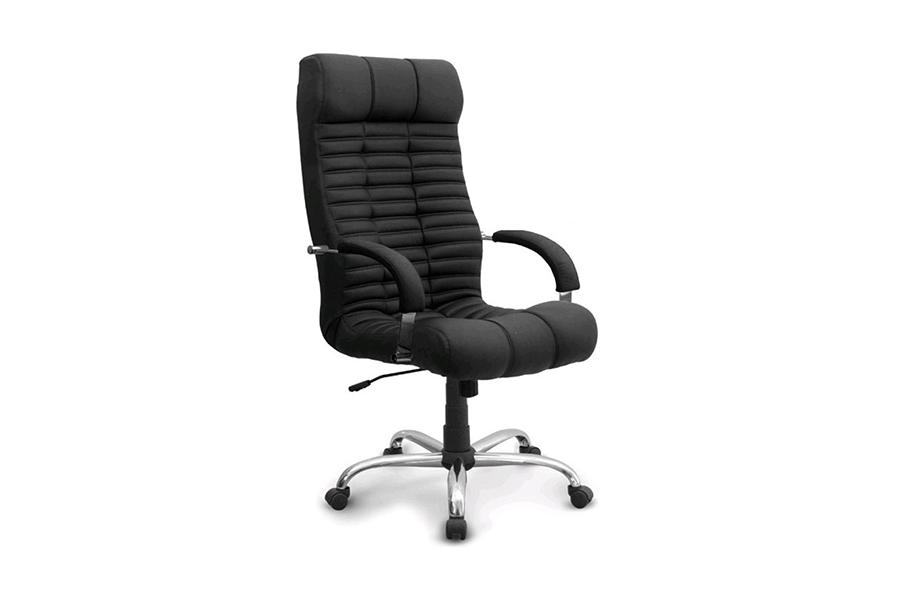 Компьютерное кресло EVERPROF ATLANT CHROME PU (ЭКОКОЖА/ТКАНЬ)