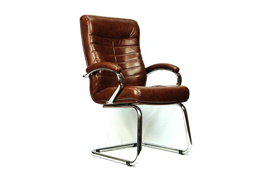 Компьютерное кресло EVERPROF ORION CF (ЭКОКОЖА/ТКАНЬ)