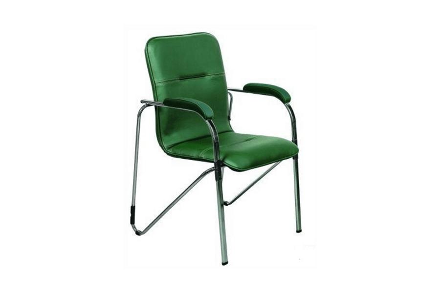Компьютерное кресло EVERPROF SAMBA CHROME ECO (ЭКОКОЖА)