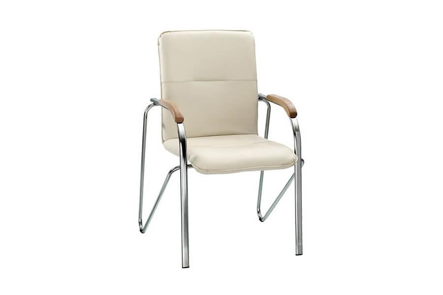 Компьютерное кресло EVERPROF SAMBA CHROME TEXTILE (ТКАНЬ)
