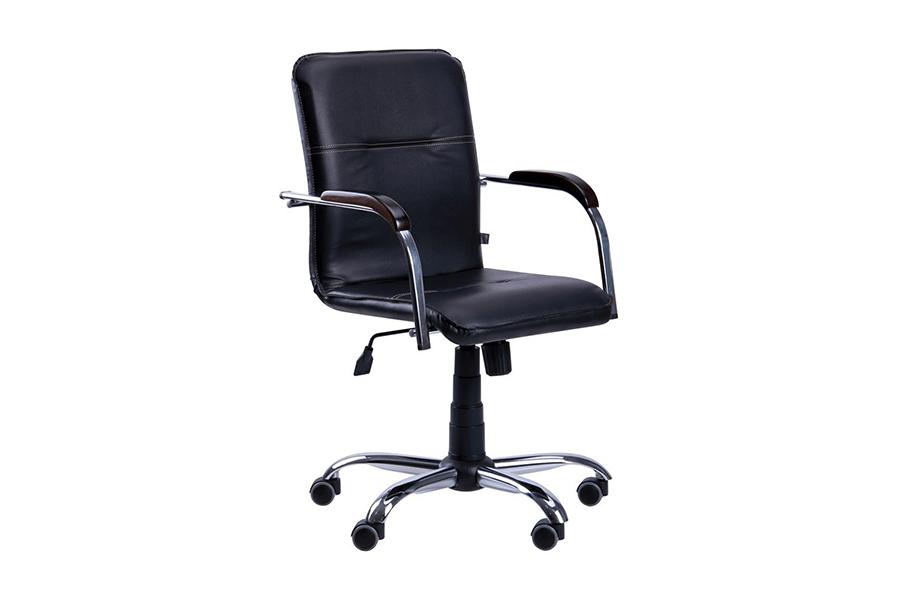 Компьютерное кресло EVERPROF SAMBA ПОВОРОТНОЕ ECO (ЭКОКОЖА)