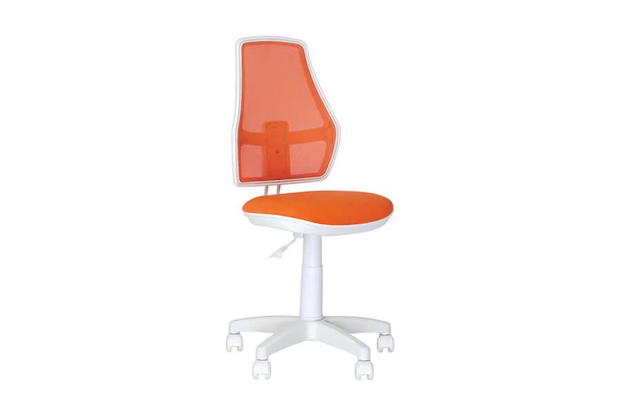 Детское компьютерное кресло NOWYSTYL FOX GTS WHITE PL55 ZT