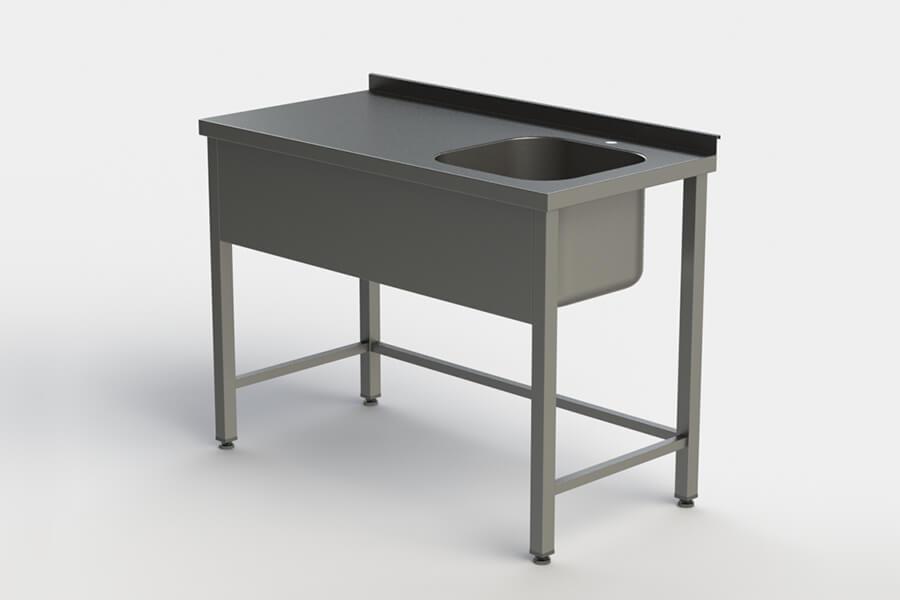 Столы производственные с ванной