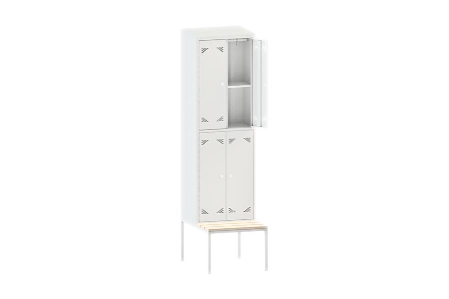 Шкаф одежный (гардеробный) четырехстворчатый ШО 4ПС